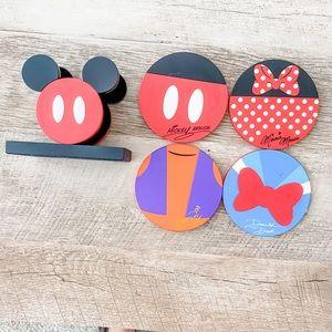 Disney Character Coaster Set